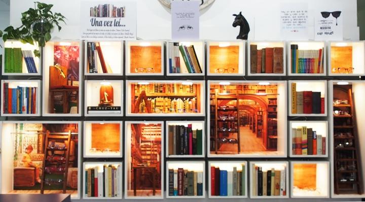 Escaparate Biblioteca